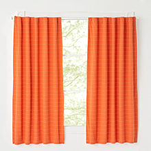 Orange color competitive price curtains and drapery for hotel