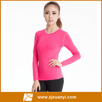 Women long sleeves sweater high quality women sport t shirts sexy fitness o neck running wear