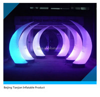2015 new high quality inflatable light arch for dectoration