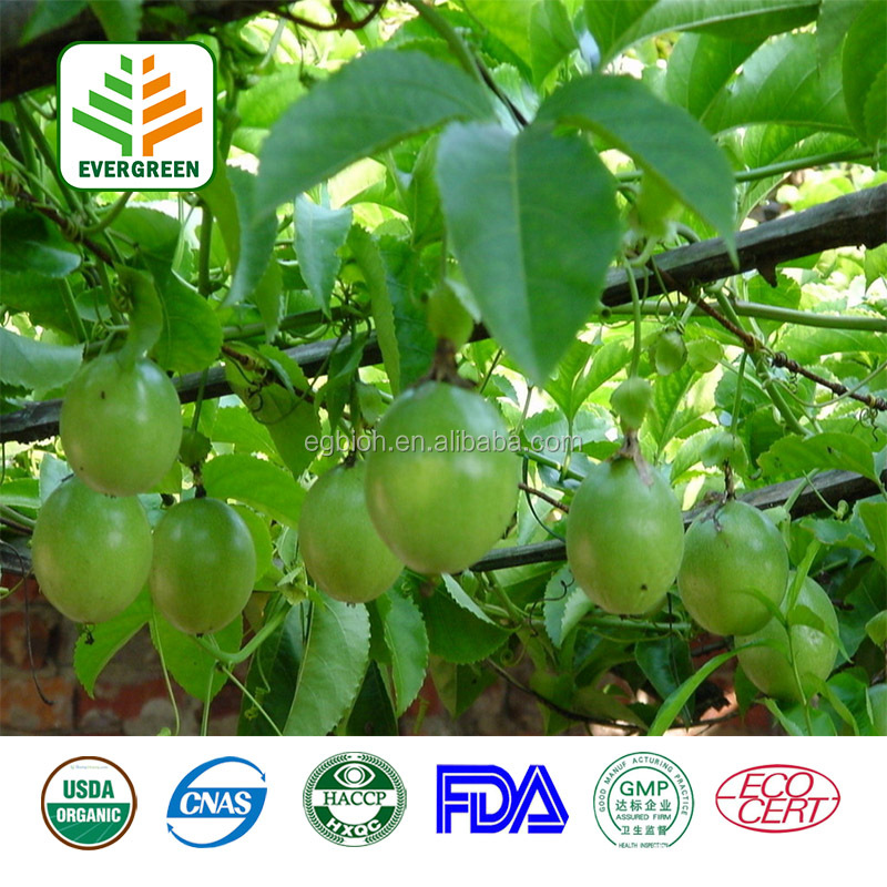 High quality passion flower extract/ passion fruit powder