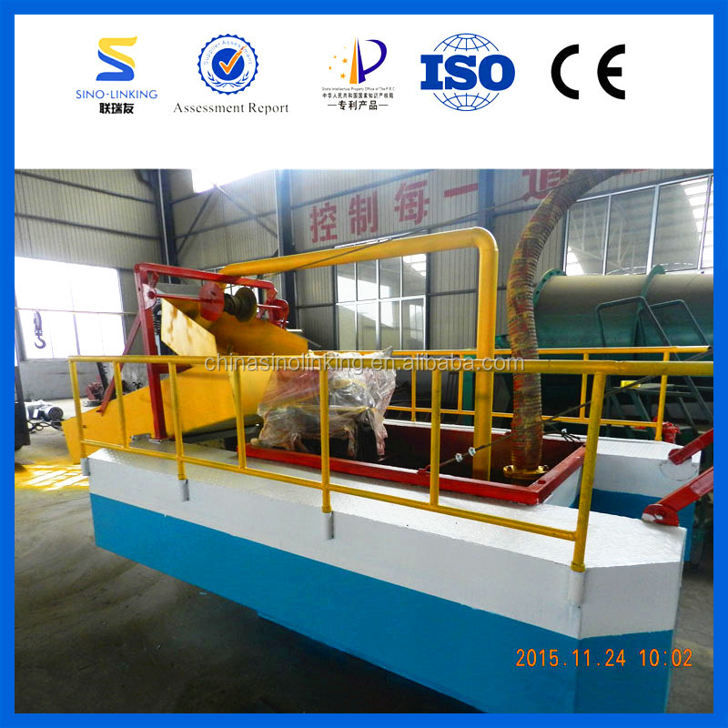 Complete Processing Line Gold Dredge Equipment for Sale