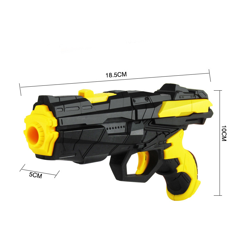 Safety eco-friendly summer happy play plastic soft water bullet gun toy