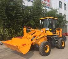 2 ton payload zl920 front end new articulated small mini wheel loader price made in china