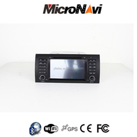 7'' Car Radio GPS for BMW E39 1996-2003 with BT Ipod 3G