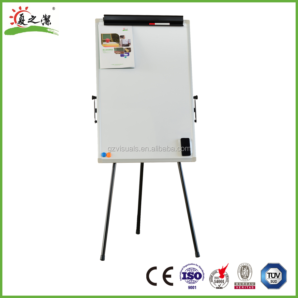 GZ teaching or training flipchart board with retractable arms