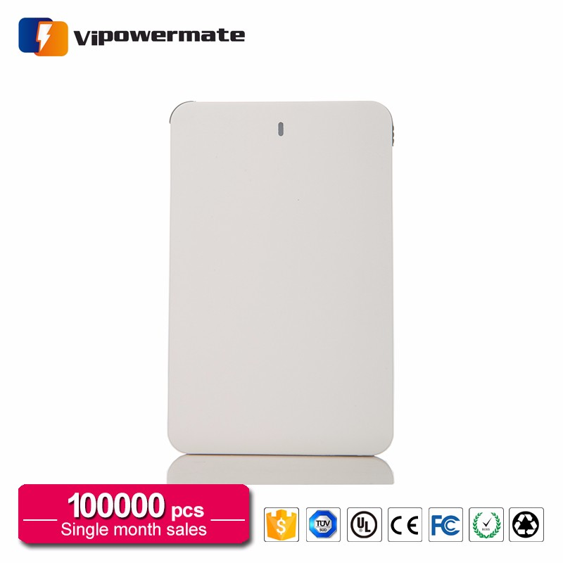 Portable Charger Credit Card Size Ultra Thin Advertising Credit Card Power Bank Suppliers In Qatar