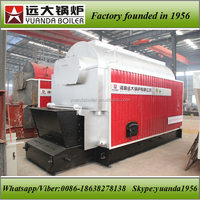 Cheap price coal wood biomass pellet atmospheric pressure direct fired hot water boiler