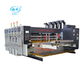 carton machinery china automatic flexo printing die cutting machine