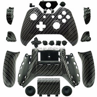 For XBOX ONE Custom Hydro Dipped CARBON FIBER Controller Shell Parts