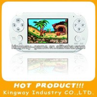 "32Bit Touch Screen HD 4.3"" Handheld Game Player With Android Support for PSP games,PS1 games"