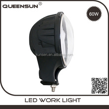 "Factory offer High quality 60w 6 inch led work light for jeep wrangler 6"" round led headlight"