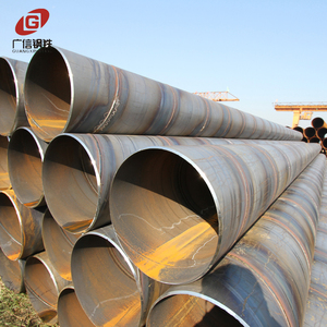 good quality good price large diameter q 235b round spiral steel pipe on sale