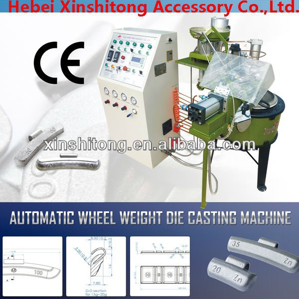 auto wheel balance weight machine