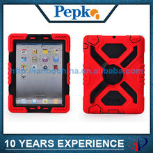 silicone case for ipad 4 3 2 with kickstand