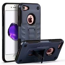 Shockproof Kickstand Armor Hybrid TPU+PC Phone Case Cover For IPhone 7 8 Plus X