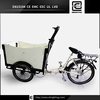 Professional electric air cool BRI-C01 holland bakfiets 3 wheel pedal motorcycle