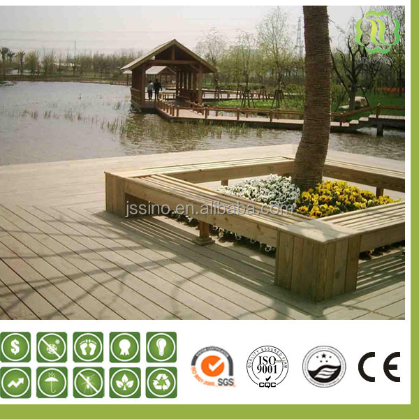 recycle plastic wood/exterior cladding materials/outdoor artificial wood flooring