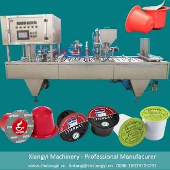 Full automatic coffee capsule filling machine