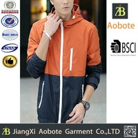 2015 New Style Sports Clothing Manufacturer Men's Spring Jacket