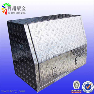 Customized metal truck tool box.Aluminum tool box for truck