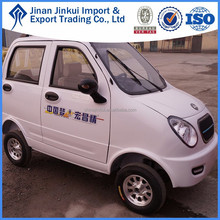 China manufacturer made 48v motor electric mini van, electric car sales