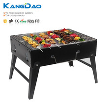 Portable korean yakitori table top bbq charcoal satay grill