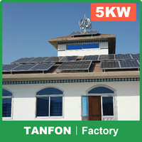 Tanfon 10KW 15KW 20KW Complete solar off grid home system / 5KW 6KW 8KW 10KW Solar power kit off grid / 5000W solar panel kits