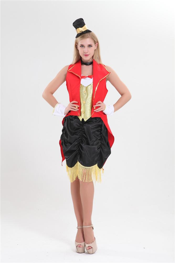 walson clothes apparel Aapparel factory China Adult circus ring master Costumes Wholesalers