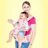 2015 multifunctional cotton ergonomic kangaroo hip seat belt support front baby carrier