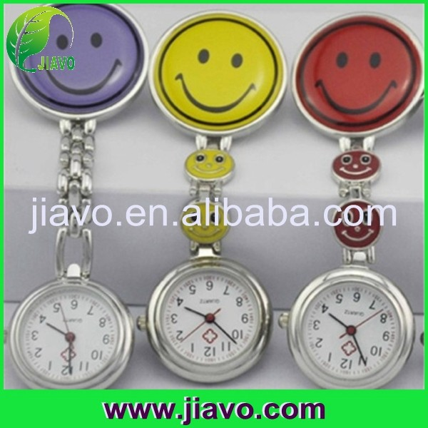 Newest style silicone rubber nurse wristwatch