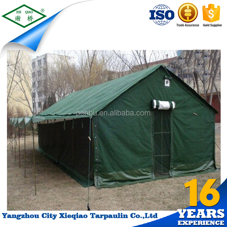 Waterproof 20 persons canvas portable military tent