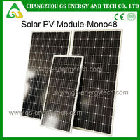 monocrystalline sun power solar panel 250w