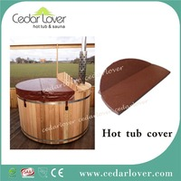 Spa cover outdoor bathtub pool covers