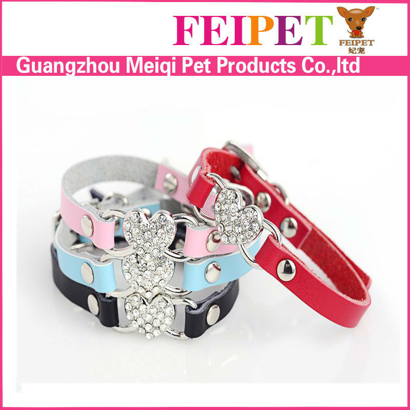 Personalized diamond cat collar wholesale in China