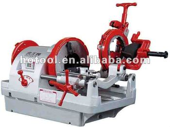 how to thread pipe with threading machine
