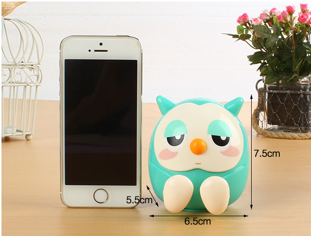 Made in china best little girl piggy banks owl car cell phone holder