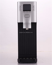New design bottleless bar top water cooler , hot and cold water dispensers with ice bank technology