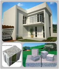 Fast building prefab house finish in 7days - Daquan lightweight EPS cement sandwich wall panel building system.