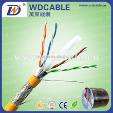 Wandong offer Solid/Flexible Copper Cat 6 UTP/FTP Networking cable