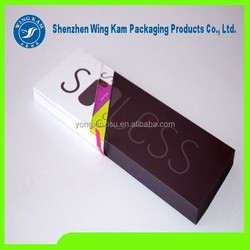 Flat simple food grade paper box container