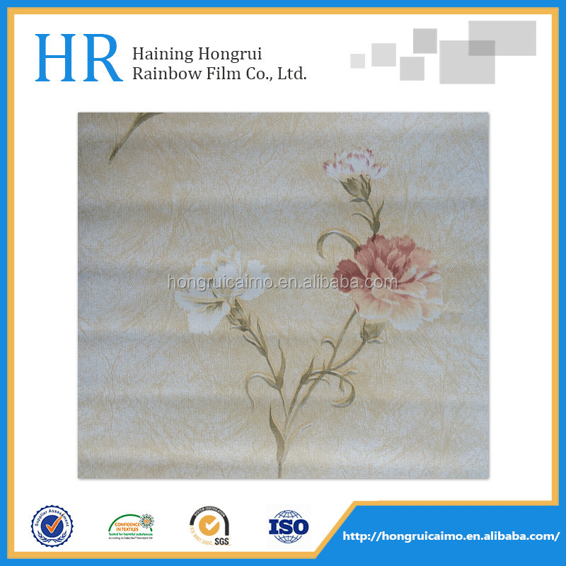 hydrographics printing film decorative film for PVC panel/pvc ceiling