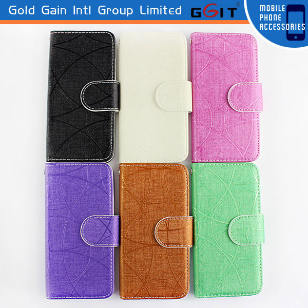 Wholesale Magnetic Wallet Case For iPhone 5