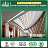 Shopping Mall Wall Decoration Respirable Fiber GRG Gypsum Cornice Profile