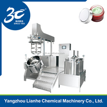 steam jacketed vacuum homogenizer mixer with preheating tanks