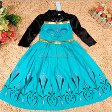 Children TV Movies Gorgeous Wholesale Checkout Cosplay Frozen Costume Anna Costume SU037