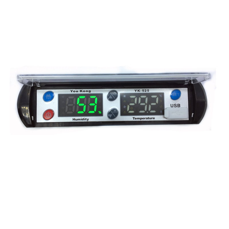Intelligent <strong>temperature</strong> and humidity controller data logger with USB for cool cabinet medicine cabinet/freezers/refrigerators