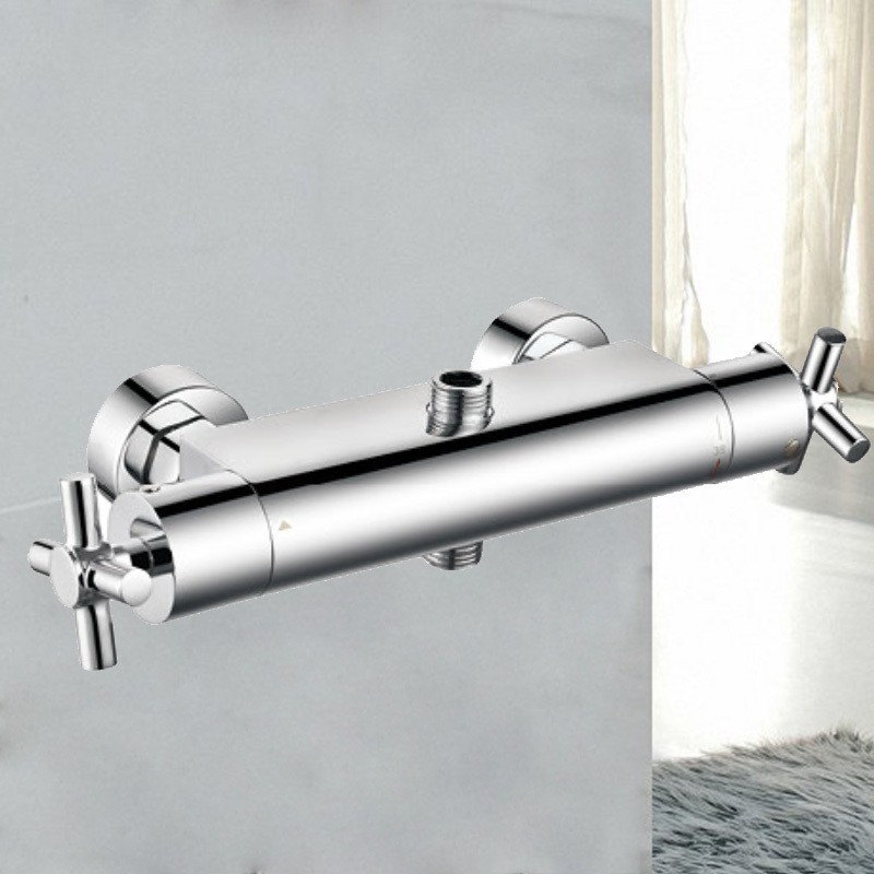 Brass round exposed thermostatic shower valve SL0008(08)