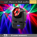mini size led light bar 6x15w 4-in-1 bee eye moving head