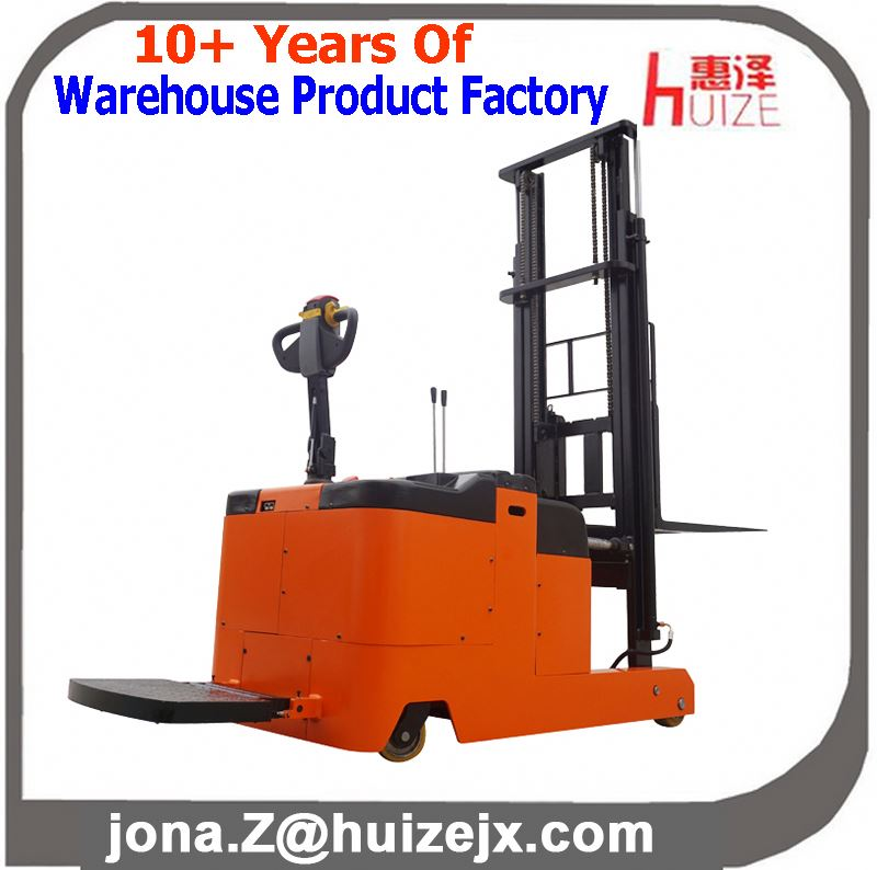 Mast Reach Type Counterbalanced Electric Powered Stacker