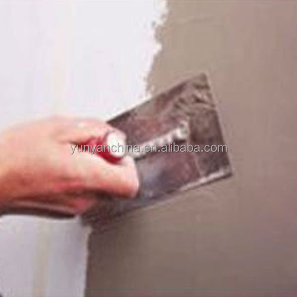 External wall putty